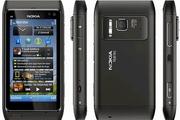 продам Nokia N8 Финский  -  черный, камера  12 Мпикс  с оптикой с видео