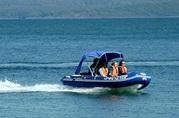 лодки РИБ складные надувные пластиковые фирмы Skyboat