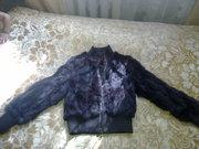 шубку-куртку из шиншиллы/кролика