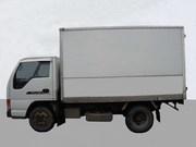 Водитель на личном грузовике