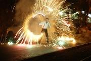 Огненное (фаер,  FIRE) шоу в Хабаровске