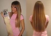 Накладные волосы на заколках пряди