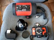 Подводный профессиональный фотоаппарат (пленочный) NIKONOS со вспышкой