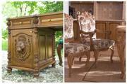 Производство классической мебели из ценных пород дерева