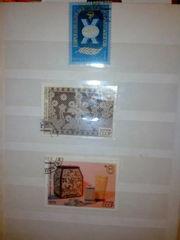 Почтовые марки,  разные подборки и года выпуска