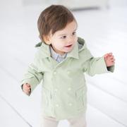 XUENI'ER Davebella новый daiweibeila Весна baby хлопок с капюшоном