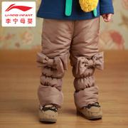 baby оригинальные корейские зимние теплые длинные брюки