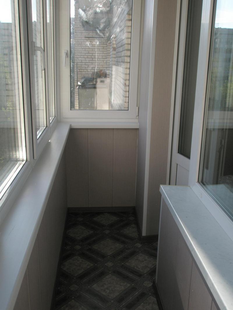 Утепление навесного балкона.
