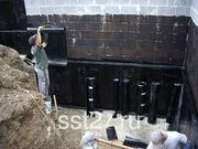 Гидроизоляция подвала,  фундаментов,  строительных сооружений