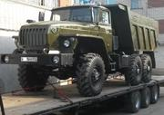 Урал 55571 самосвал совок