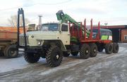 Продам Лесовоз Урал 43204 с манипулятором