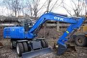 Продам новый,  функциональный,  экскаватор СТК EXL85J.