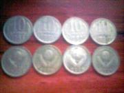 серебряные монеты 60-х годов
