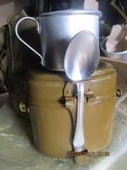 Индивидуальный походный набор для приема приготовления пищи