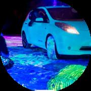 Светящаяся в темноте краска AcmeLight Metal для автотюнинга