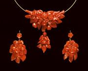 Ювелирные украшения из красного и розового коралла от производителя