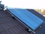 Солнечные установки для нагрева воды и отопления.